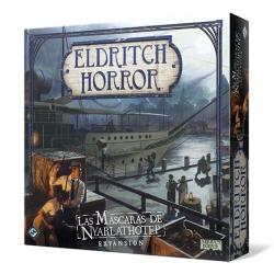 [PRE-ORDER] Eldrich Horror: Las máscaras de Nyarlathotep