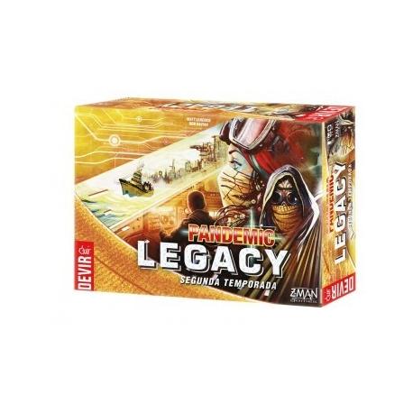 [PRE-ORDER] Pandemic Legacy S2: Negro