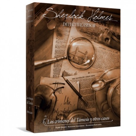 [PRE-ORDER] Sherlock Holmes Detective Asesor:  Los crímenes del Támesis y otros casos