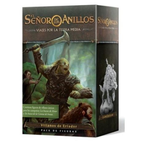 El señor de los anillos viajes por la Tierra Media:Pack de figuras Villanos de Eriador