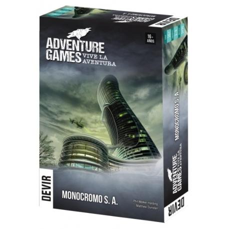 [PRE-ORDER] ADVENTURE GAMES - MONOCROMO, S.A.