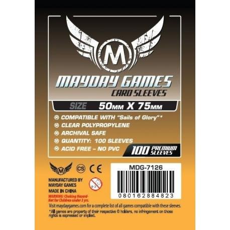 Mayday Custom Card Sleeves 50x75mm