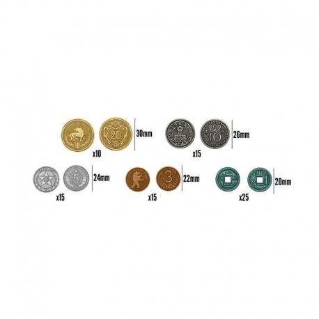 Scythe: Set de monedas metálicas