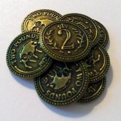[PRE-VENTA] Scythe: monedas $2 (x15)