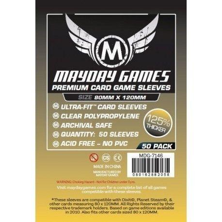 Premium Magnum Gold Sleeve: 80 MM X 120 MM