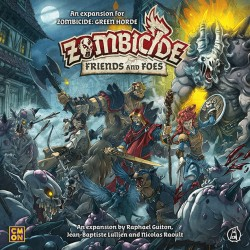 [PRE-ORDER] Zombicide Black Plague: Friends and Foes