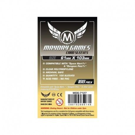 Mayday Card Game Slevee 61x103mm