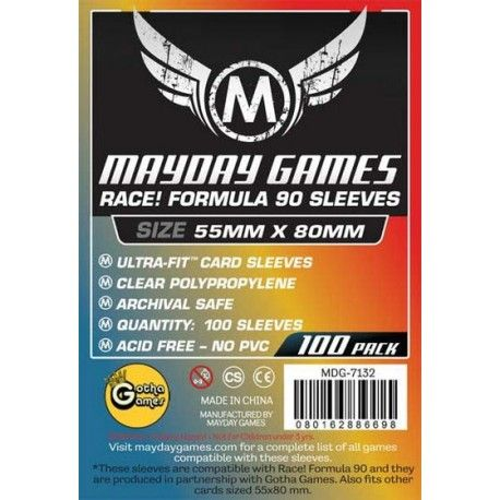 Mayday Card Game Slevee 55x80mm