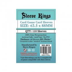 SLEEVE KINGS CARD GAME CARD SLEEVES (63.5X88MM)