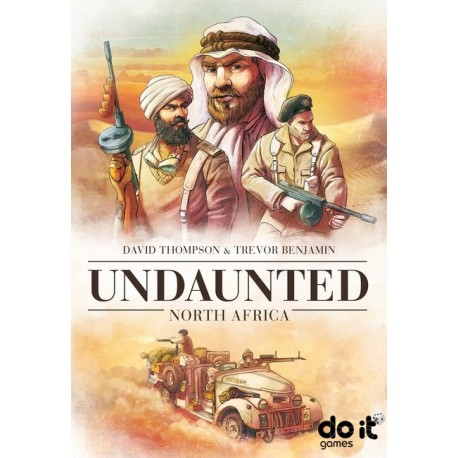 [PRE-ORDER] UNDAUNTED: NORTH AFRICA