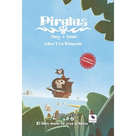 Piratas La Busqueda (Libro juego)