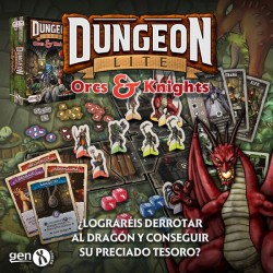[PRE-ORDER] DUNGEON LITE: ORCS AND KNIGHTS