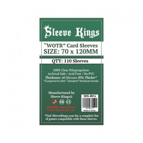 FUNDAS SLEEVE KINGS CARD GAME CARD SLEEVES (70X120MM)