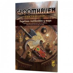 [PRE-ORDER] GLOOMHAVEN FAUCES DEL LEÓN REMOVABLE STICKERS
