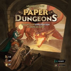 [PRE-ORDER] Paper Dungeons