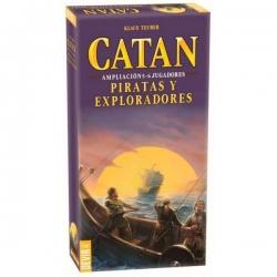 Catan - Piratas y exploradores 5-6 jugadores