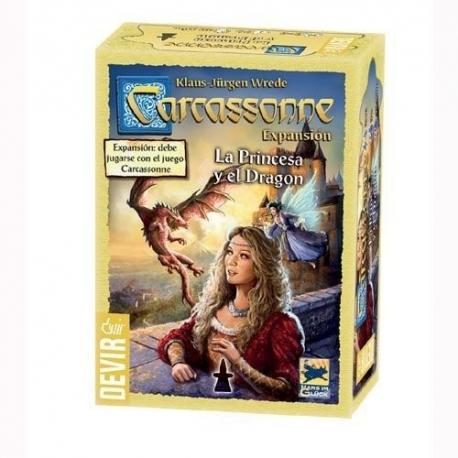 Carcassonne: La Princesa y el dragón